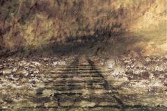zonder titel (landschap #15) - € 400 - formaat 50x75cm