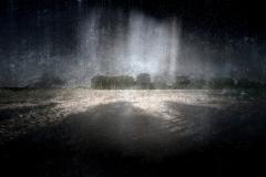 zonder titel (landschap #21) - € 400 - formaat 50x75cm